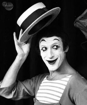 dance ballet class mime marcel marceau