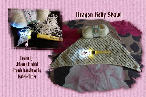 CAL Dragon Belly Shawl 1