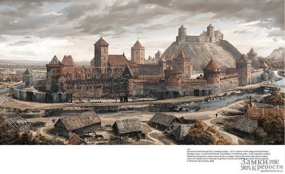 Замки времен Великого княжества Литовского восстановили с помощью компьютера - История и современность