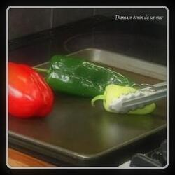 Comment griller des poivrons au four