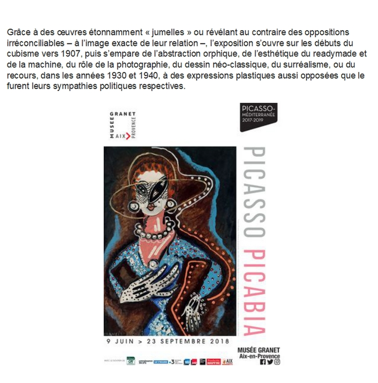 Visite de l'exposition Picasso
