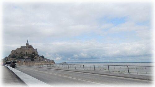Sur la route du Mont St Michel