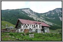 Le Hochmiesing dans le Mangfallgebirge en Bavière