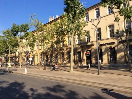 Centre-ville de Aix-en-Provence, France