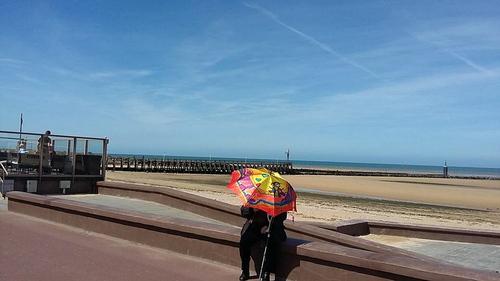 Parapluies dans le Calvados