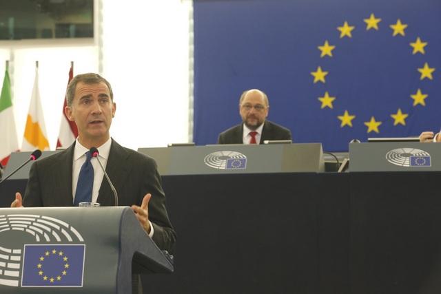 Felipe au parlement européen