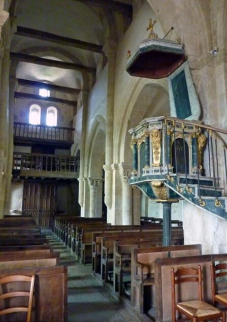 Bussy le grand (Intérieur église)