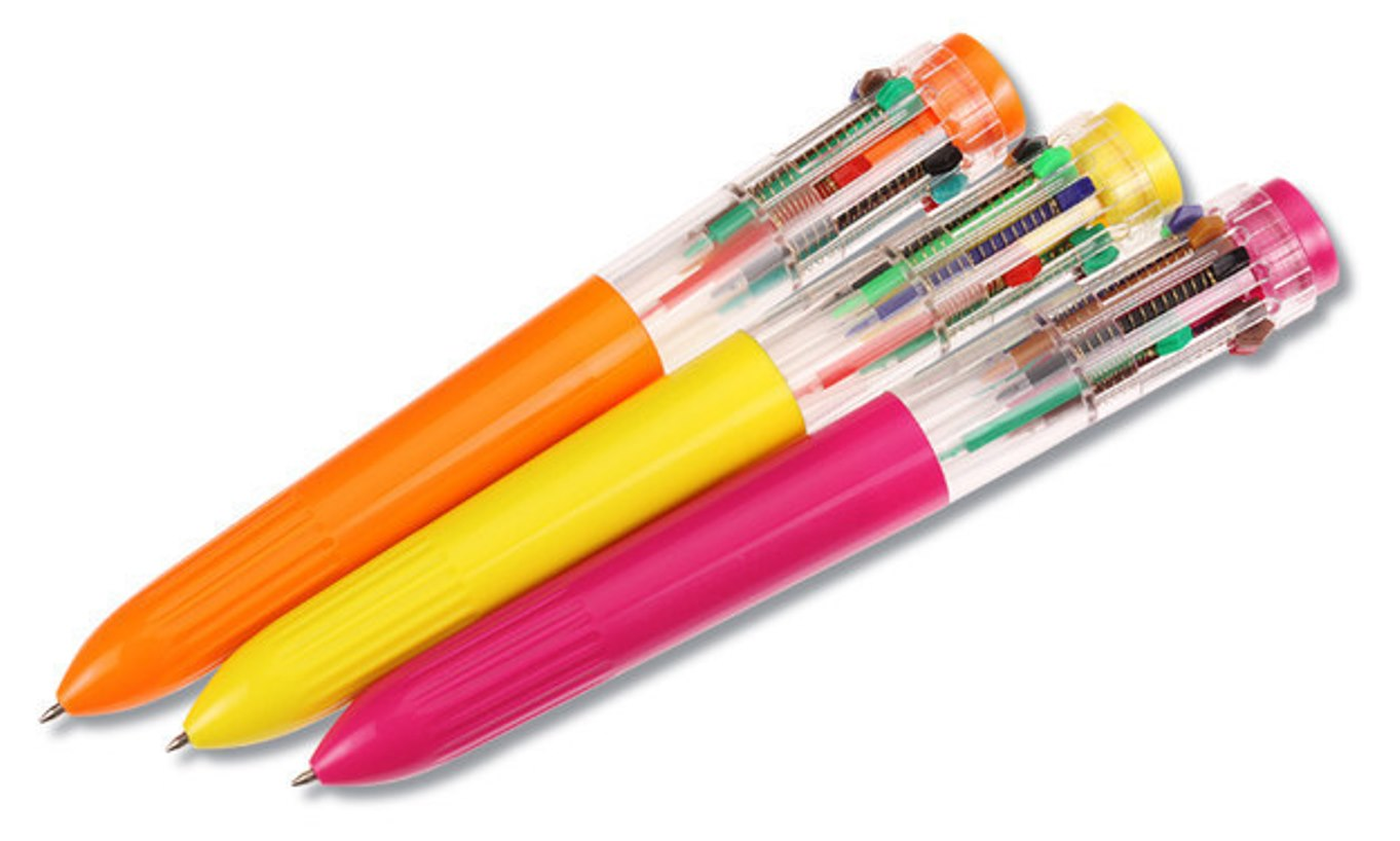 stylo 12 couleurs