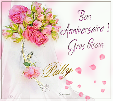 Anniversaire de Patty