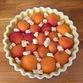 Tarte aux abricots & nougats