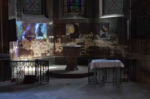 7 sérigraphies sur l'église St-Bernard