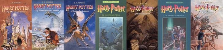 Harry Potter Couverture livre 07 04 Danish 900x205 Les couvertures des livres Harry Potter par pays