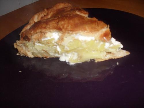 allé, un petit paté de pomme de terre pour le diner (ou tourte aux pomme de terre)