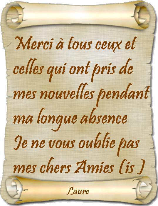 Bonjour à tous mes Amies (is)