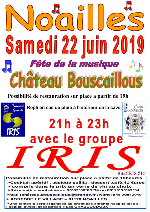 groupe IRIS  repet le 16 mai 2019