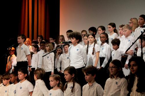 Concert Commémoratif de élèves de CM
