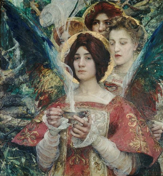 Edgar maxence, l'Âme de la for