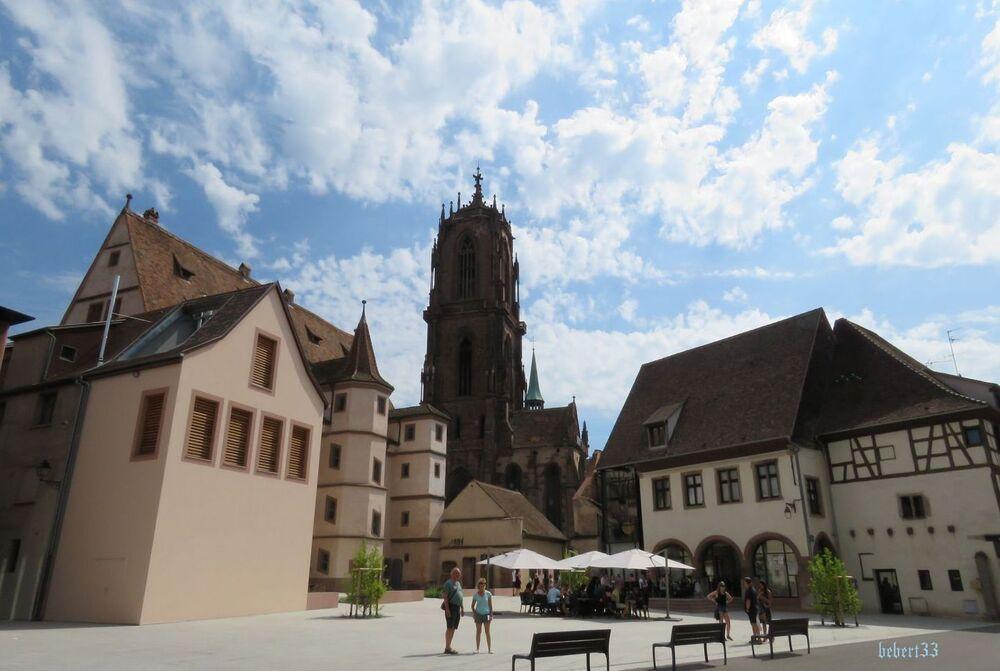 Sélestat dans le Bas Rhin