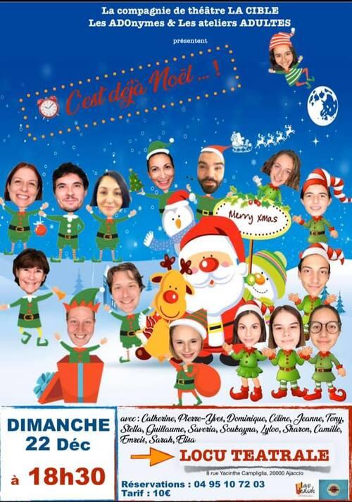 22 Décembre 2019 - ACTE 2 - Spectacle à 18h30