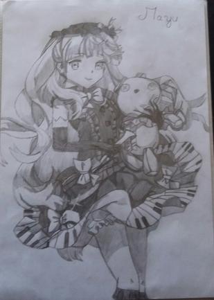 Mayu (Vocaloid) Fait avec modèle