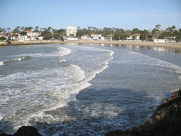 marée haute à nauzan