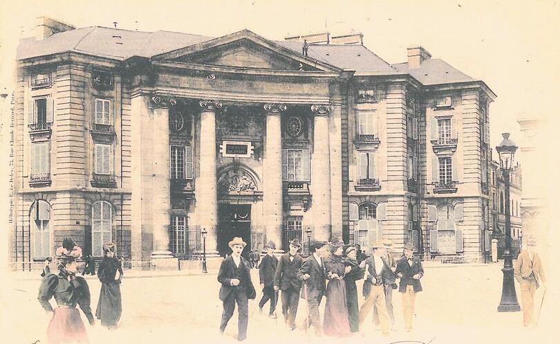 La Faculté de Droit de Paris en 1900