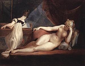 Johann Heinrich Fussli (Henry Fuseli) 1799 1800 XX Naked Wo