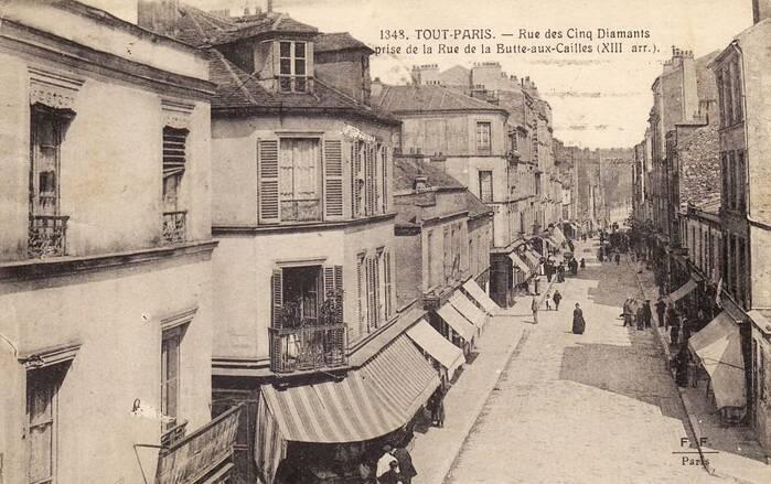 La butte aux cailles sous les toits de paris - Restaurant buttes aux cailles ...