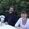 Avec l'évêque Marc