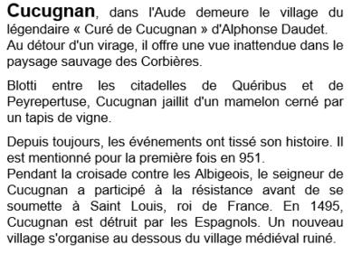 le moulin de Cucugnan Aude!
