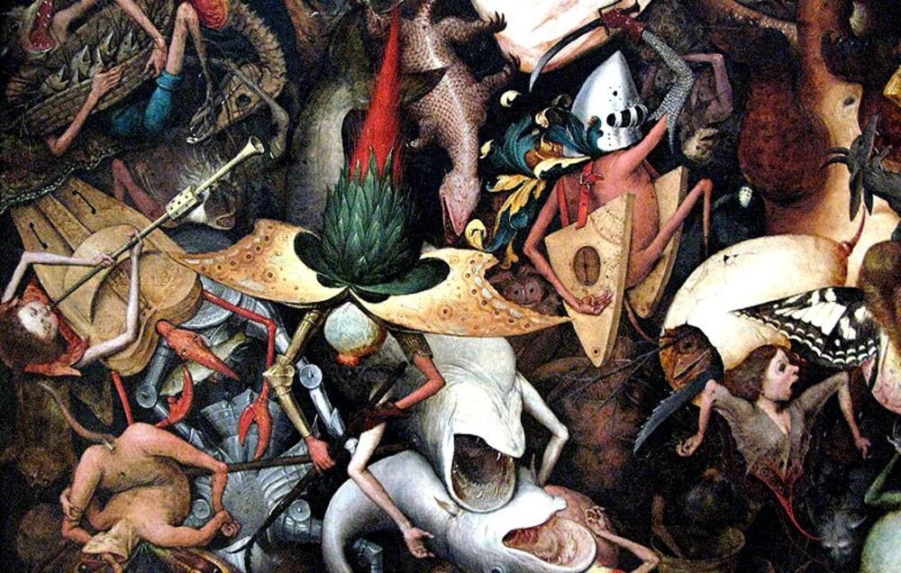 Bruegels 4 / 1562 : la chûte des anges rebelles !