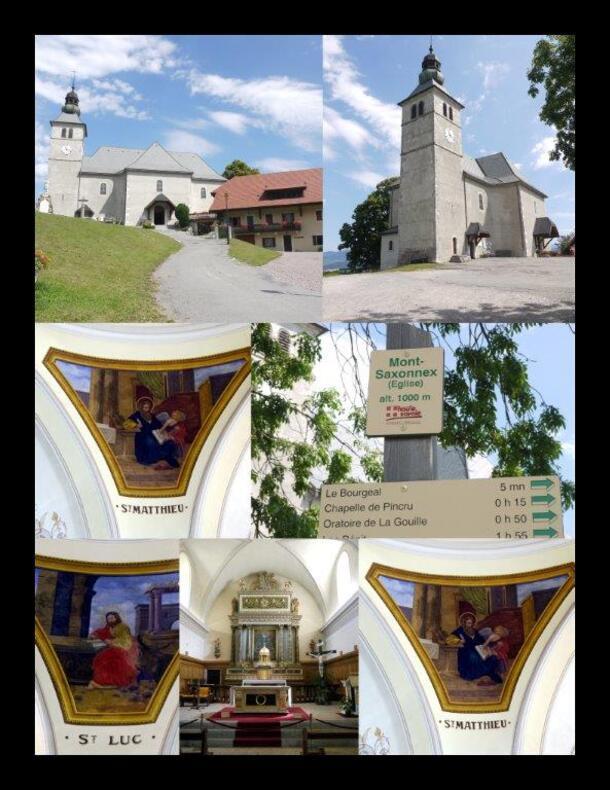 """L'église"""" de Mont Saxonnex"""