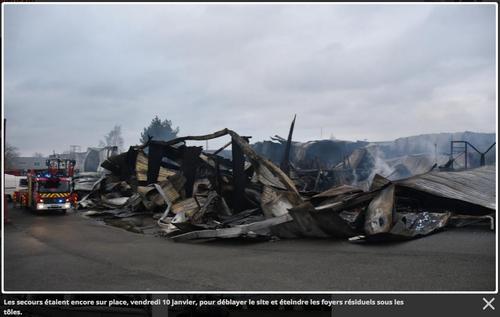 Villemeux-sur-Eure (28) : Deux morts dans un incendie