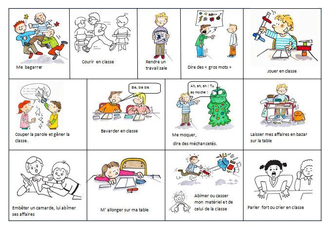 Extrem Règles de vie de la classe et de l'école CP - Véro à l'école ZZ49