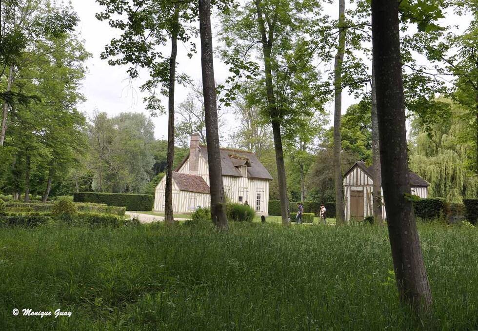 Hameau au château de Chantilly