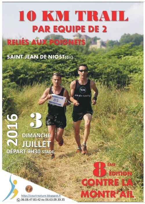 Course Contre la mont'rail 2016