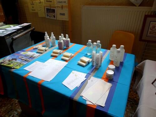 """La """"Foire aux graines"""" 2013, organisée par ARCE, a eu lieu dimanche 19 mai à Recey sur Ource..."""