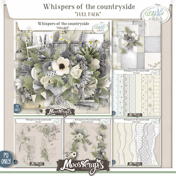 Whispers of the countryside - full pack