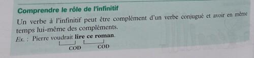 F / L'infinitif