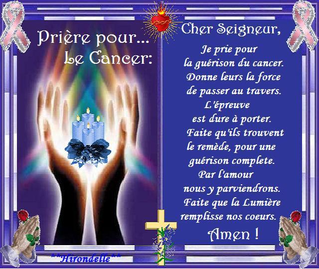 Magnifique Prière pour le cancer - Akia @OH_46