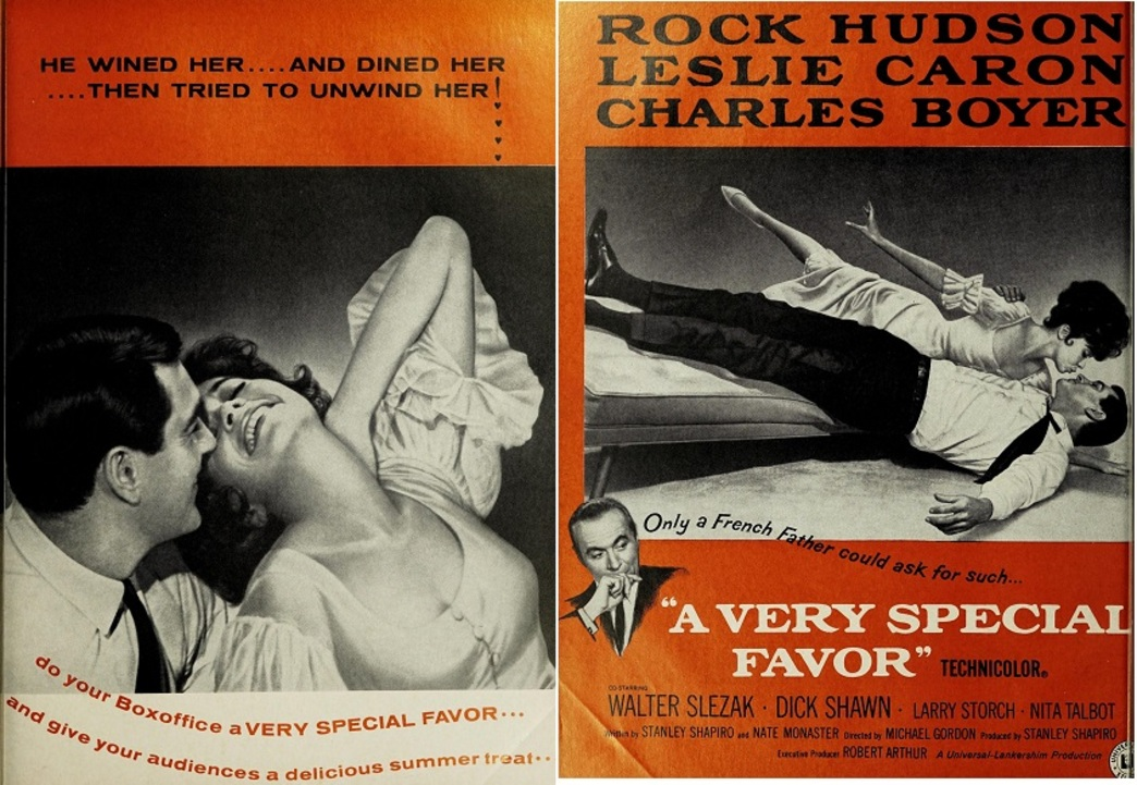 A VERY SPECIAL FAVOR BOX OFFICE USA 1965