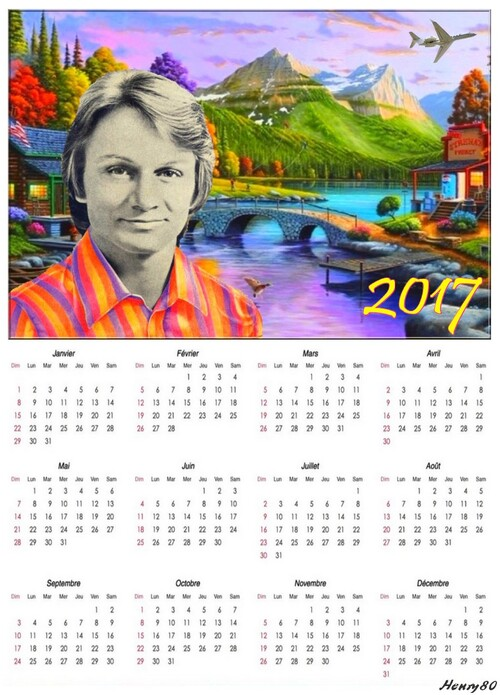 MES CALENDRIERS 2017