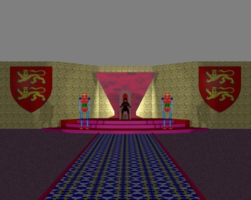 La salle du trône de Batwoman