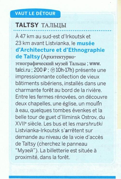 """Voyage Transsibérien 2017, le 17/07, 10 ème jour, Musée de l'architecture """"Taltsy"""""""