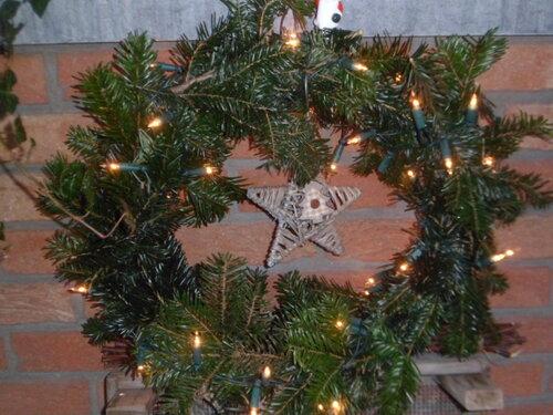Décorations et couronnes de Noël et tirage au sort...