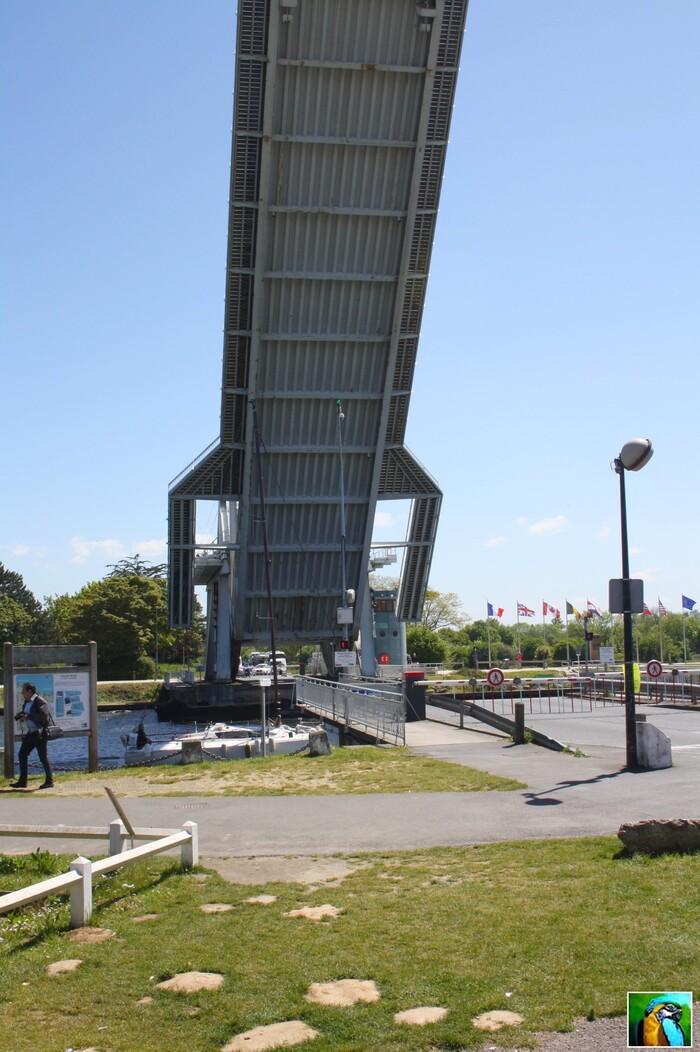 NORMANDIE mai 2017 : PERAGUS  BRIDGE