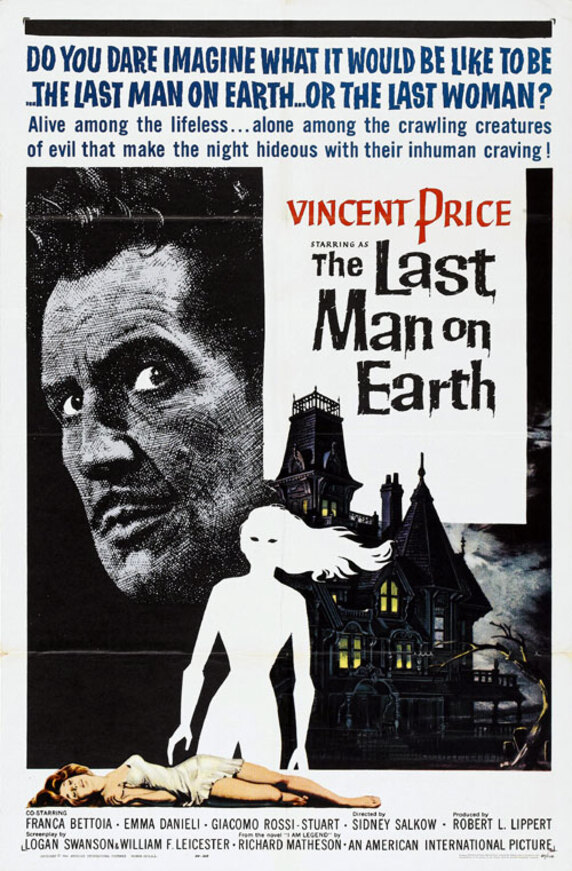 THE LAST MAN ON EARTH BOX OFFICE USA 1964