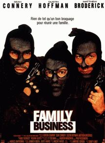 FAMILY BUSINESS BOX OFFICE FRANCE 1989