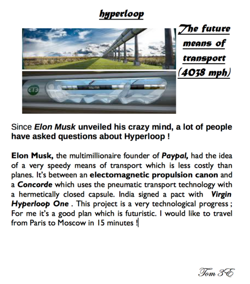 HYPERLOOP!