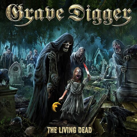 GRAVE DIGGER - Un premier extrait du nouvel album The Living Dead dévoilé